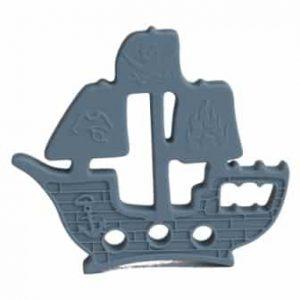 grey pirate ship