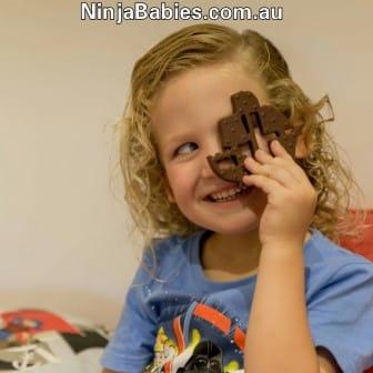 chocolate pirate ship
